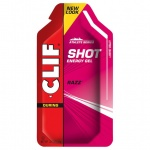 CLIF SHOT Gel RAZZ/raspberry package with 24 pcs