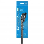 M-Wave parallelogram suspension seatpost 31.6 mm x 350 mm travel 27mm matt black