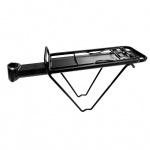 AbT rear rack with seatpost mounting black