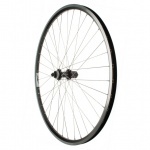 "AbT rear wheel Trekking V-Brake + Disc 28"" ZAC 2000 SE Deore 615 Disc Centerlock 36H inox silver"