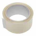 AbT transparent packaging tape - 50mm x 66m