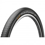 Continental Double Fighter III 24x2.00 50-507 black reflex drutowa