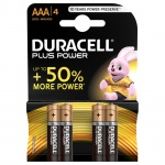 Duracell PLUS POWER AAA baterie 4szt