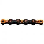 KMC DLC11 Black/Orange dla MTB 11rz 118 ogniw