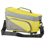 Racktime Carrierbags Talis Plus eco light green/stone-grey