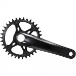 Shimano DURA ACE FC-MT900-1 32T 12-speed. 175mm nero