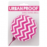 Urban Proof 80mm Ding Dong dzwonek Chevron Pink pink