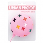 Urban Proof 80mm Ding Dong dzwonek Confetti Plus pink