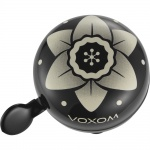 Voxom KL21 Flowers Design dzwonek black